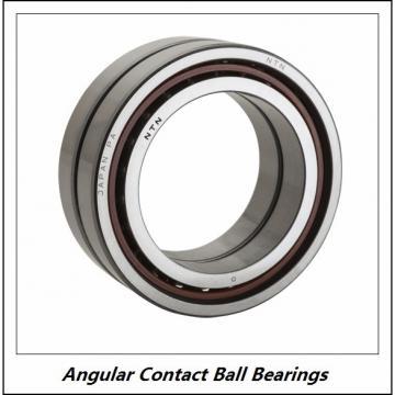 0.394 Inch | 10 Millimeter x 1.181 Inch | 30 Millimeter x 0.563 Inch | 14.3 Millimeter  NSK 3200A  Angular Contact Ball Bearings