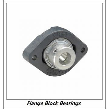 LINK BELT F3U227NK75  Flange Block Bearings