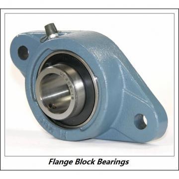 LINK BELT F3U223NK75  Flange Block Bearings